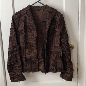 Samuel Dong textured jacket